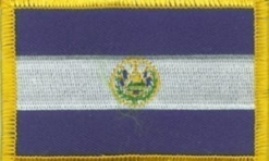 El Salvador vlag patch