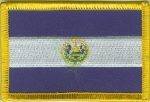 El Salvador vlag patch