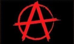 Anarchy Rood vlag