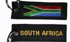 Zuid Afrika vlag Sleutelhanger