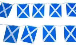 Schotland vlag vlaggenketting