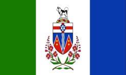 Yukon territory vlag