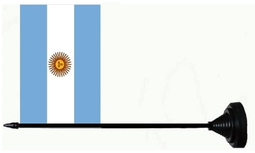 Argentine flag tafelvlag