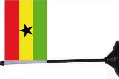 Ghana tafelvlag