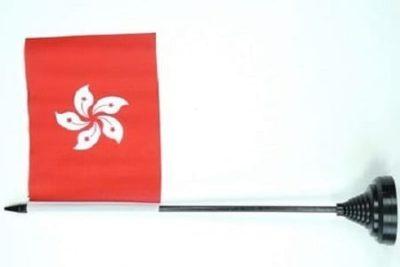Hong kong tafelvlag table flag