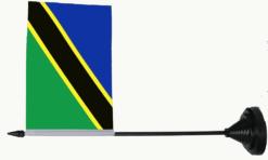 Tanzania tafelvlag