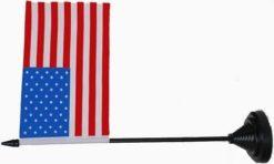 USA United States table flag