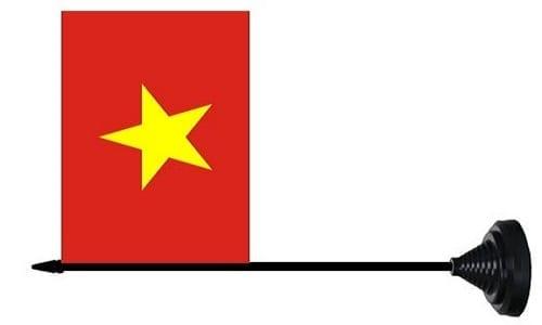 Vietnam tafelvlag