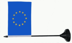 Europe table flag