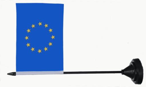 Europe table flag
