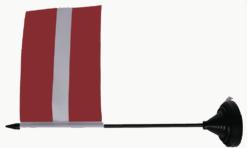 Letland Latvia tafelvlag