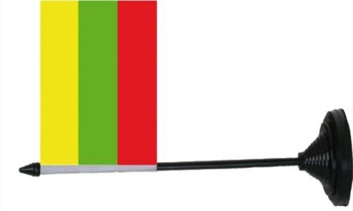 Litouwen Lithuania tafelvlag