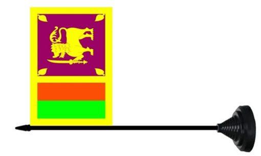 Sri Lanka tafelvlag