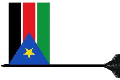 Zuid Soedan tafelvlag