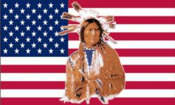 USA Indian vlag