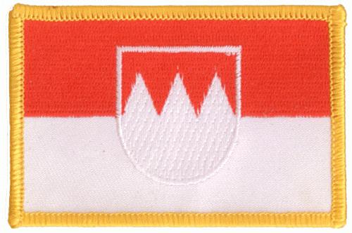 Franken hertogdom vlag patch