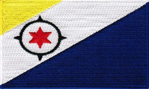 Bonaire-vlag-patch