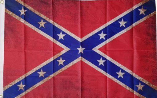 Confederate Grunge flag