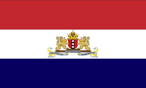 Amsterdam Resistance Flag February Strike