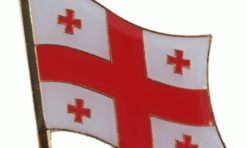 Georgia Vlag Pin Speldje