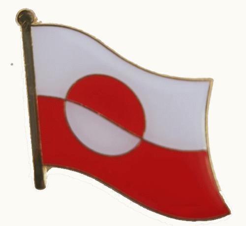 Groenland vlag speldje