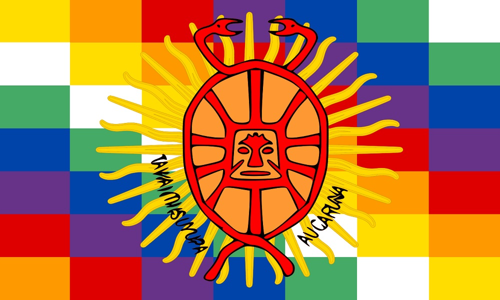 Inca People vlag