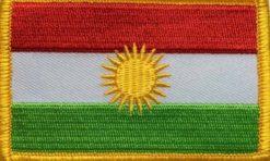 Kurdistan Koerdistan vlag patch