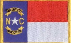 North-Carolina-vlag-patch