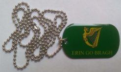 Erin go Bragh vlag Dog Tag