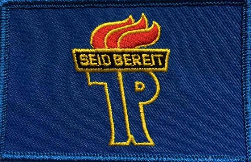 DDR Seit Bereit vlag patch