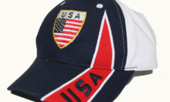 USA United States vlag baseball pet
