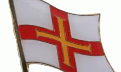 Guernsey Island flag pin
