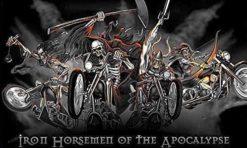 Iron horsemen of the Apocalypse vlag