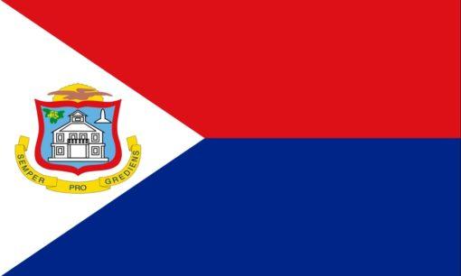 Sint Maarten vlag