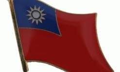 Taiwan flag speldje pin